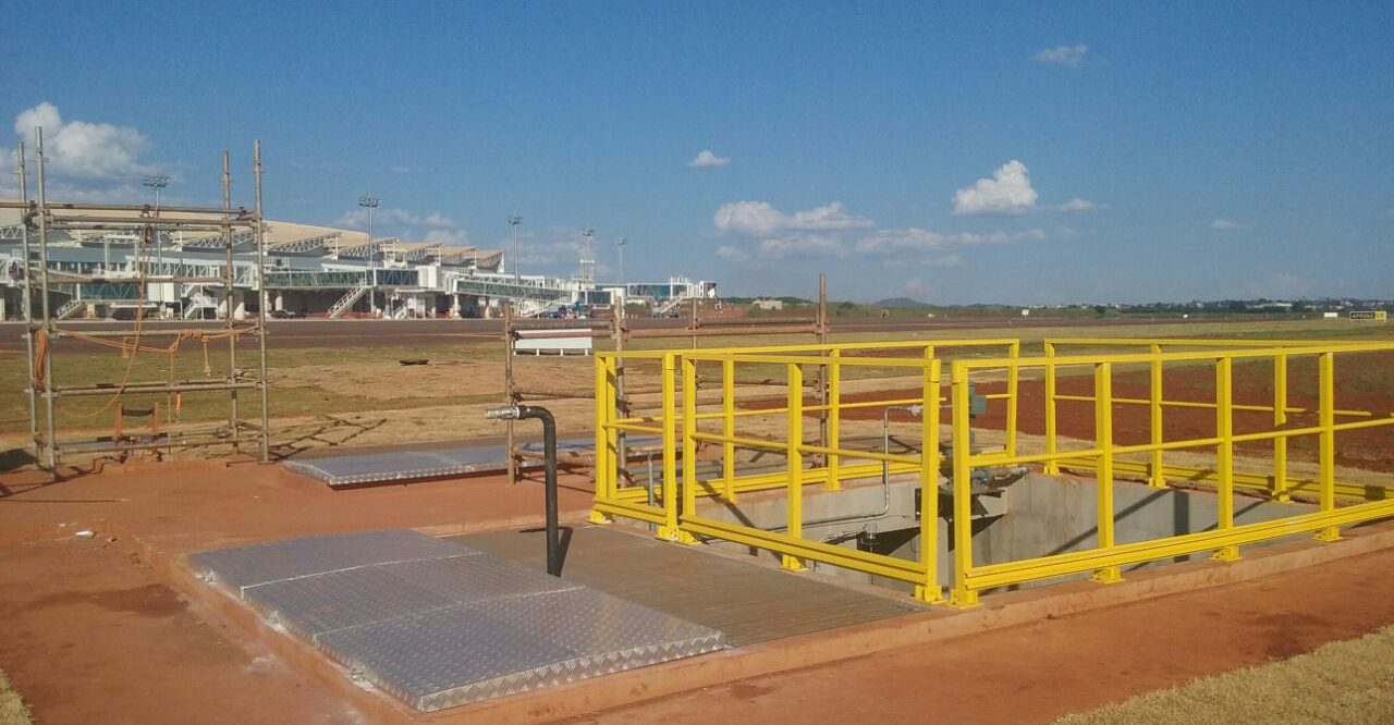 Goiânia International Airport - Stormwater and Greywater Reuse Treatment Plant