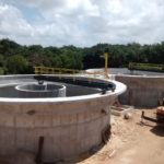 Paiva reserve's sewage treated by an Ecosan treatment plant